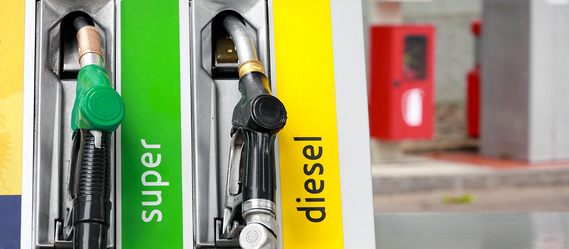 With petrol in diesel car in less than 90 minutes, you can continue with your trip